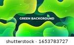liquid color background design. ... | Shutterstock .eps vector #1653783727