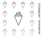 ice cream multi color style...