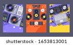dj club party banner  nightclub ...   Shutterstock .eps vector #1653813001