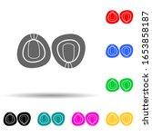 peas multi color style icon....
