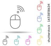 wireless mouse multi color...