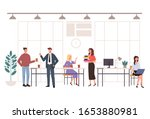 people office workers... | Shutterstock .eps vector #1653880981