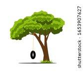 Illustration Of A Tree Shape...