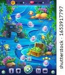 fish world vertical level... | Shutterstock .eps vector #1653917797