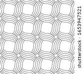 vector seamless geometric...   Shutterstock .eps vector #1653947521