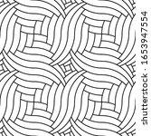 vector geometric seamless...   Shutterstock .eps vector #1653947554