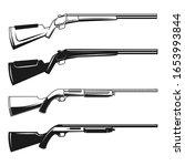 set of illustrations of hunting ...   Shutterstock .eps vector #1653993844