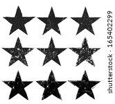 grunge stars | Shutterstock .eps vector #165402299