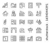 interior and exterior design ... | Shutterstock .eps vector #1654044391