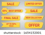 special offer tag collection ... | Shutterstock .eps vector #1654152001