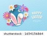 vector cute festive horizontal...   Shutterstock .eps vector #1654156864