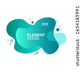 modern abstract graphic element ...   Shutterstock .eps vector #1654185991