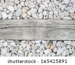 Sleepers From The Rails As The...