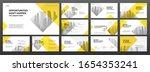 business powerpoint... | Shutterstock .eps vector #1654353241