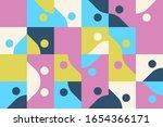 modern artwork of abstract... | Shutterstock .eps vector #1654366171