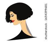 retro style sarcastically... | Shutterstock .eps vector #1654399681