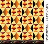 tribal vector seamless textile... | Shutterstock .eps vector #1654407391