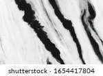 White Marble Texture With Black ...