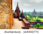 hdr version of a ancient temple ... | Shutterstock . vector #165443771