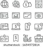 business icons set vector... | Shutterstock .eps vector #1654572814