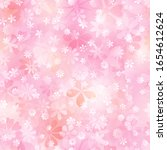 spring seamless pattern of... | Shutterstock .eps vector #1654612624