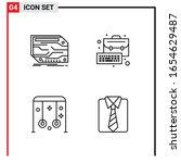 4 general icons for website... | Shutterstock .eps vector #1654629487