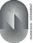 halftone design element. vector ... | Shutterstock .eps vector #1654668067