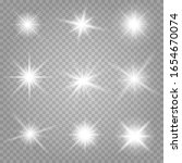 shining stars isolated on a...   Shutterstock .eps vector #1654670074