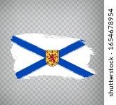 flag of nova scotia brush...