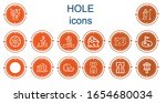 editable 14 hole icons for web... | Shutterstock .eps vector #1654680034