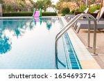 ladder stainless handrails for... | Shutterstock . vector #1654693714