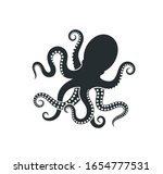Octopus Logo. Isolated Octopus...