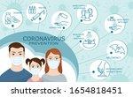 coronavirus prevention. new... | Shutterstock .eps vector #1654818451
