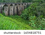 Sri Lanka  Nine Arch Bridge In...