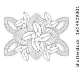 coloring page.hand drawn sketch ...   Shutterstock .eps vector #1654929301