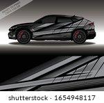 car wrap decal design vector ... | Shutterstock .eps vector #1654948117