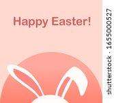 happy easter day invitation... | Shutterstock .eps vector #1655000527