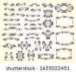 elegant flourish elements of... | Shutterstock .eps vector #1655022451