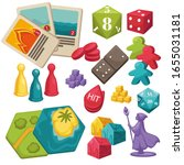 collection of games for... | Shutterstock .eps vector #1655031181