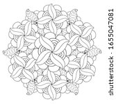 coloring page. hand drawn...   Shutterstock .eps vector #1655047081