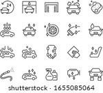 set of auto care icons  car... | Shutterstock .eps vector #1655085064
