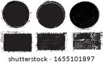 grunge post stamps collection ...   Shutterstock .eps vector #1655101897