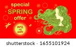 discount hot red label for... | Shutterstock . vector #1655101924