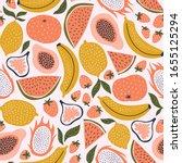 Exotic Fruit Seamless Pattern...