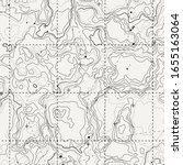 abstract topographic map. topo... | Shutterstock .eps vector #1655163064