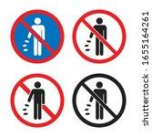 Do Not Litter Sign Set  Do Not...