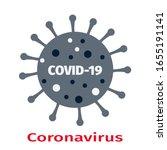 coronavirus covid 19 symbol. ...   Shutterstock .eps vector #1655191141