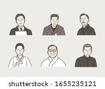 korean independence fighters... | Shutterstock .eps vector #1655235121