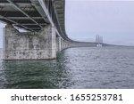 From Sweden to Denmark the bridge over Öresund