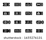 collection of ticket to vip ...   Shutterstock .eps vector #1655276131